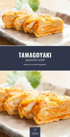 Tamagoyaki - japanisches Omlett - super lecker und einfach