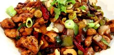 Our make ahead street food: Hot & Tangy Kung Pao Chicken.