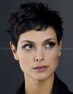 short+hairstyles+-+Morena+Baccarin+short+skipy+hairstyle