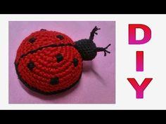 Crochet Dolls, Crochet Hats, Diy Hair Accessories, Crochet Animals, Diy Hairstyles, Diy Beauty, Ladybug, Diy And Crafts, Beanie