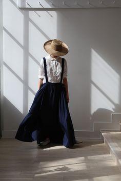 Khadi & Co Proust Dress . Casey Casey Paper Shirt . Samuji Hat . rennes