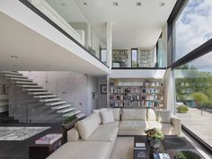 Amazing private three-storey residence is situated in Southern Germany - CAANdesign