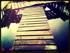 Wooden bridge, Mazury