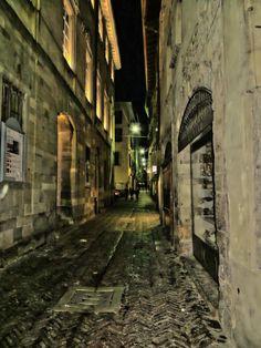 Bergamo by Night Citta Alta by Martin Teuber on 500px