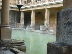 Bath, England. What fun to see the architecture and waters of the old baths. Beautiful city all around! I like The Culture Concept blog.