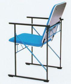 Vir·tu·al Ge·om·e·try - Yrjö Kukkapuro, A 500 Chair, for Avarte Oy, 1985