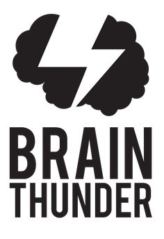 Brain Thunder Logo for Systems Alliance by O'Postrophy Designs | Christine Giuffrida