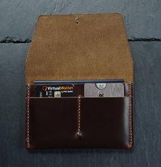 Passport Holder Horween Leather Passport Wallet Travel | Etsy Diy Leather Passport Holder, Leather Passport Wallet, Leather Laptop Bag, Leather Wallet, Best Travel Accessories, Leather Accessories, Leather Crafts, Handmade Products, Leather Design