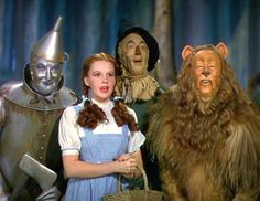 The Scarecrow, Cowardly Lion, and Tin Man Always Ate Lunch Alone