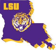 LSU Tigers Alternate Logo on Chris Creamer's Sports Logos Page - SportsLogos. A virtual museum of sports logos, uniforms and historical items. Lsu Tigers Football, Football Team, Football Season, College Football, New Orleans Saints Football, Louisiana State University, Florida Panthers, Hot Cheerleaders, Georgia Bulldogs