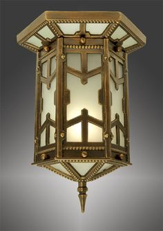 Arts & Crafts San Simeon Flush Mount Close Ceiling Light (290-CCL-AC)