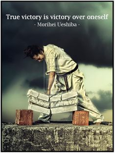 True vitory is victory over oneself! http://papasteves.com