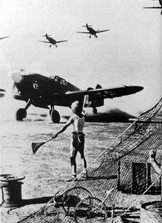 Bringing them in safely #plane #WW2 #greatestgenerationinaviation