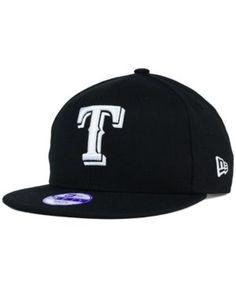 New Era Kids' Texas Rangers B-Dub 9FIFTY Snapback Cap - Black Adjustable