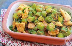 A combinação do frango com o quiabo é gostosa e funciona muito bem. O preparo é prático e versátil. Confira receitas desse prato saboroso!