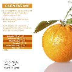 Pour faire le plein de #vitamines, rien de mieux que consommer des #clémentines.