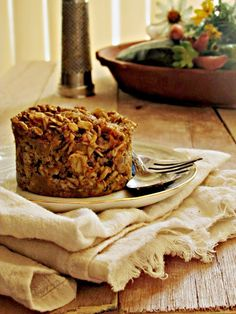 Oatgasm: Morning Glory Baked Oatmeal {Zucchini, Carrot, Apple} oil-free too!