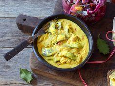 Norwegian Food, Danish Food, Guacamole, Cauliflower, Cabbage, Vegetables, Ethnic Recipes, Board, Cauliflowers