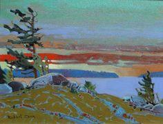 Sunset, LOTW by Robert Genn
