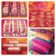 Bella's Bollywood Party ... Chai tea party favors!!
