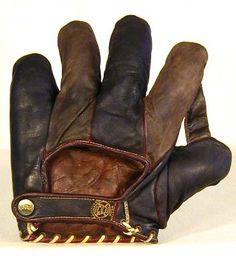 Vintage Baseball Gloves - Antique Baseball Gloves