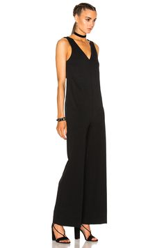 165be7c5c33 Image 3 of James Perse Palazzo Jumpsuit in Black Palazzo Jumpsuit
