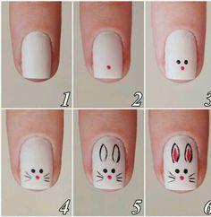 Image de bunny, nails, and beauty