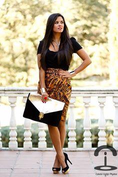 Maria Jesús. Spanish fashion blogger addicted to DIY. Crimenes de la Moda: Gold Cuffs