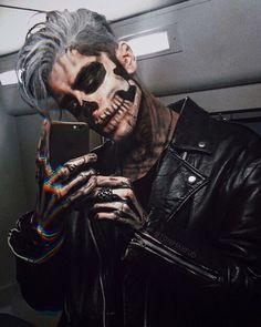 Imagine boy, Halloween, and black