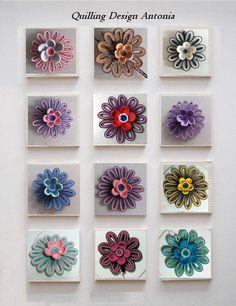 Martisoare - Card - Quilling Design Antonia Quilling Dolls, Paper Quilling Flowers, Paper Quilling Tutorial, Paper Quilling Patterns, Quilled Paper Art, 3d Quilling, Quilling Earrings, Quilling Paper Craft, Quilling Cards