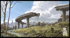 Concept Arts do game The Last of Us | THECAB - The Concept Art Blog
