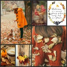 Autumn is a second spring, when every leaf is a flower. #moodboard #mosaic…