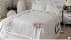 Ev Dekorasyonu ve Örnekleri – 2014 Yatak Örtüsü Modelleri