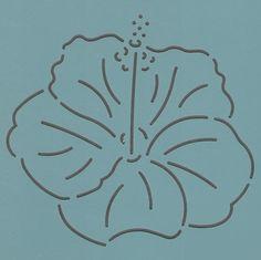"""Hibiscus 4.5"""" - The Stencil Company"""