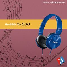 Are you a music lover? Here is a perfect accessory for you. Buy these fabulous quality headphones from the house of Philips and avail discounts.