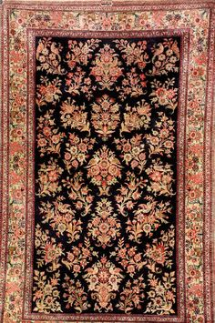 Silk Qum (Signed), Persia, circa 40 years old, pure silk, approx. 168 x 106 cm Henrys Auktionshaus AG 40 Years Old, Pure Silk, Bohemian Rug, Pure Products, Rugs, Home Decor, Farmhouse Rugs, Decoration Home, 40 Rocks