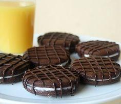 biscuit au chocolar comme un after eight