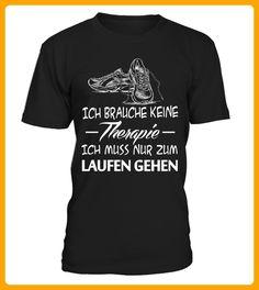 Laufen Ich brauche keine Therapie - Läufer shirts (*Partner-Link)