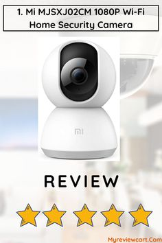 With This Mi Wi-Fi CCTV Camera, You Can Easily Check On Your Home And Office From Anywhere On Your Smartphone And Tablet And This Mi CCTV Camera Can Store The Videos Using MicroSD And Network-Attached Storage Devices. Cctv Camera For Home, Office 2020, Camera Reviews, Security Cameras For Home, Ergonomic Mouse, Wi Fi, Smartphone, Storage, Videos