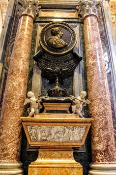Queen Christina Of Sweden, Le Vatican, St Peters Basilica, Walking Tour, Rome, Aircraft, Royalty, Clock, Museum