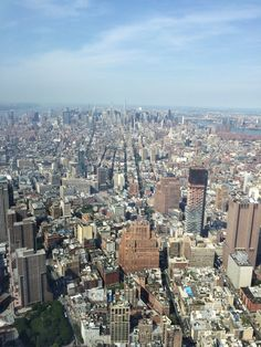 """Only 1 of countless amazing views from See Forever """"One World Observatory"""" we were so privileged, an experience of a lifetime."""