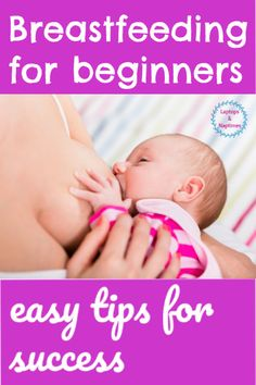 You're awesome, new breastfeeding mama! Nursing your newborn is the best start you can give so here's a bunch of the best ideas and encouragement to show you how to latch your baby, choose a great nur Nursing Positions, Breastfeeding Positions, Breastfeeding And Pumping, How To Breastfeed Newborns, Encouragement, Baby Kicking, Fantastic Baby, Baby Arrival, Pregnant Mom