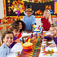 32 Best Thanksgiving Class Party And Crafts Images Thanksgiving