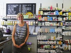 Ukrudt – my favorite health food store in Copenhagen. The girls who work there are so lovely, it's nice and fresh – feels modern – and they ...