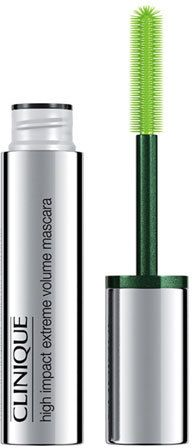 Clinique High Impact Extreme Volume Mascara  $19.50 by Clinique at Neiman Marcus  COPY LINK   FAVORITE        Available Colors: EXTREME BLACK Available Sizes: DETAILS Clinique High Impact Extreme Volume Mascara DetailsWith every stroke, the over-the-top brush wraps lashes in instant, jaw-dropping drama. This larger-than-life formula is also safe for sensitive eyes and contact lens wearers. Ophthalmologist tested, too. 0.33 oz. / 10 mL.