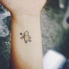 Winnie the Pooh tattoo.