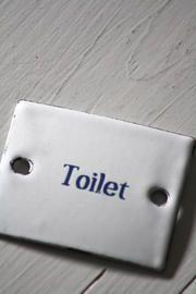 Toilet Kyltti