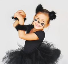 Kitty Cat Costume & How to Make an Easy Black Cat Halloween Costume   Pinterest   DIY ...