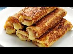 Νόστιμες αλμυρές αυγοφέτες - YouTube Breakfast Snacks, Breakfast Recipes, Breakfast Ideas, Cooking Time, Cooking Recipes, Mumbai Street Food, My Best Recipe, Greek Recipes, Love Food