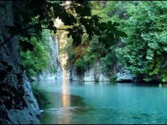 Acheron River in Epirus, Greece Greece Vacation, Greece Travel, Arcadia Greece, Places In Greece, Wonderful Places, Amazing Places, Trip Planning, Beautiful Images, Places To See